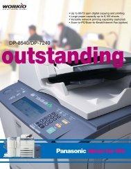 DP-7240 brochure - Tap The Web