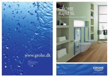 www.grohe.dk GROHE Rapid SL