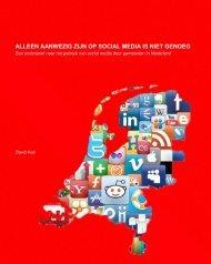 Lees het onderzoek van David Kok naar social media bij gemeenten