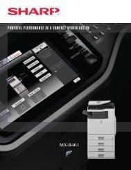 Sharp MX-B401 - Tap The Web