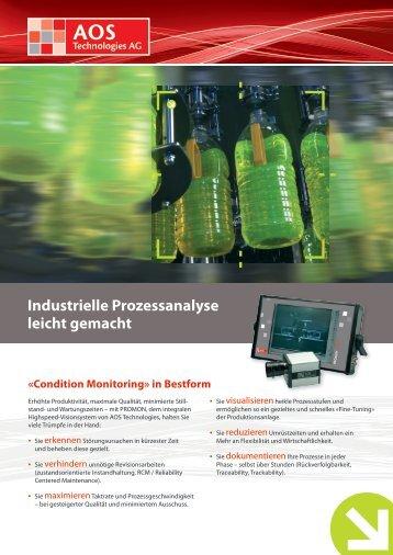 Industrielle Prozessanalyse leicht gemacht - AOS Technologies AG