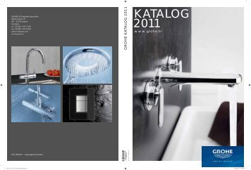 KATALOG 2011 - Grohe