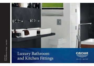 Luxury Bathroom and Kitchen Fittings - GROHE Blue