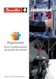 Ergonomie (Français) - Desoutter Tools Mobile Catalogue