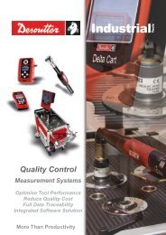 Quality control - Measurement systems