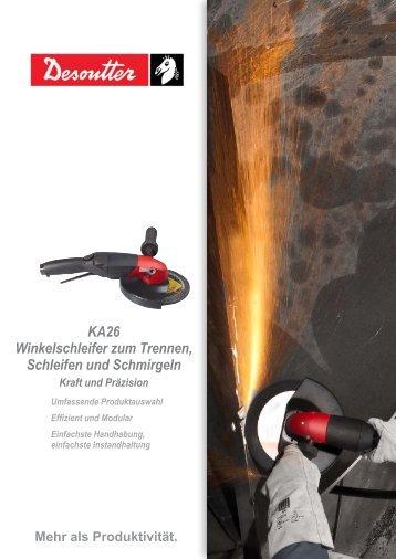 KA26 Winkelschleifer zum Trennen, Schleifen und Schmirgeln ...