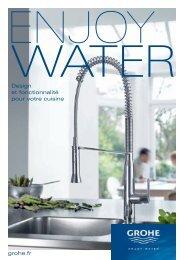 Design et fonctionnalité pour votre cuisine grohe.fr - GROHE Blue