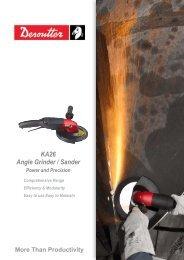 KA26 Angle grinders and sanders
