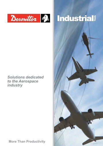 Solutions dedicated to the aerospace industry (English