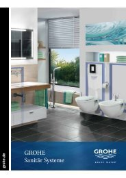 GROHE Sanitär Systeme