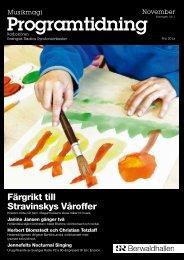 Programtidning November 2010 (pdf) - Sveriges Radio