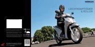 Leichtkrafträder & Roller Gesamtprogramm (PDF, 3.7 MB) - Honda