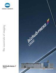 bizhub PRESS C8000 English Web Brochure - konica minolta canada
