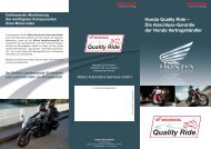 Quality Ride - Honda