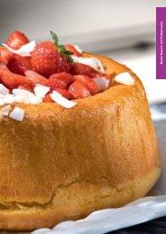Mojito-Sa va rin mit Erdbeersalat - gaggenau-genusswelt
