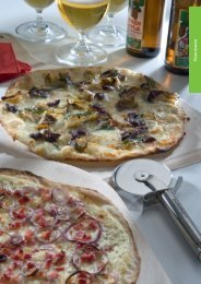 Pizza bianca - gaggenau-genusswelt