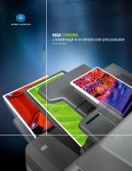 Konica Minolta bizhub PRO C65hc brochure - Tap The Web