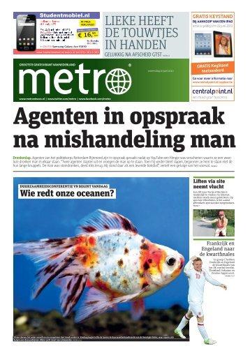 Agenten in opspraak na mishandeling man - Metro