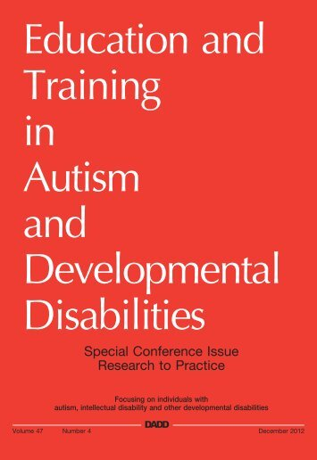 etadd_47(4) - Division on Autism and Developmental Disabilities