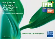 January 25 – 28 IPM ESSEN INTERNATIONAL TRADE ... - DVS Expo