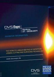 Exhibitor Brochure - DVS Expo
