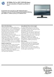 PSG Commercial Monitor Datasheet updated - FLC Danmark ApS