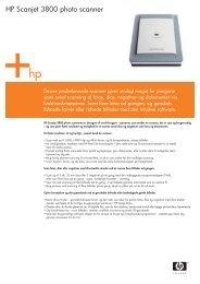 HP Scanjet 3800 photo scanner - FLC Danmark ApS