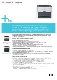 HP LaserJet 1320 serien - FLC Danmark ApS