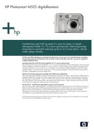 HP Camera Datasheet