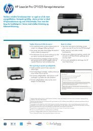 IPG HW Commercial Color Laserjet Datasheet - FLC Danmark ApS