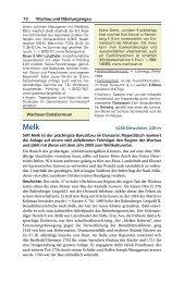 72 Wachau und Nibelungengau 5280 Einwohner, 228 m