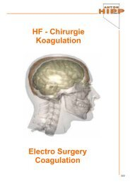 HF - Chirurgie Koagulation Electro Surgery Coagulation - Anton Hipp