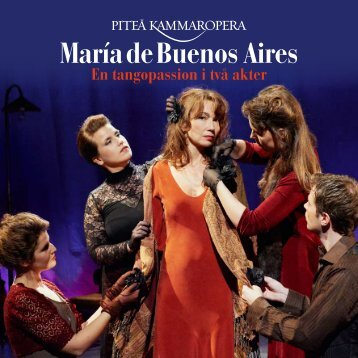 Programbok Maria de Buenos Aires