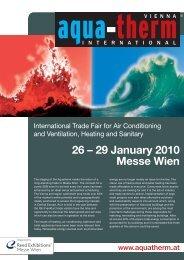 26 – 29 January 2010 Messe Wien - Novellini