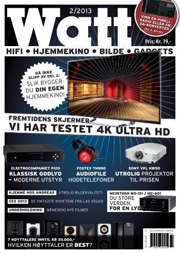 VI HAR TESTET 4K ULTRA HD
