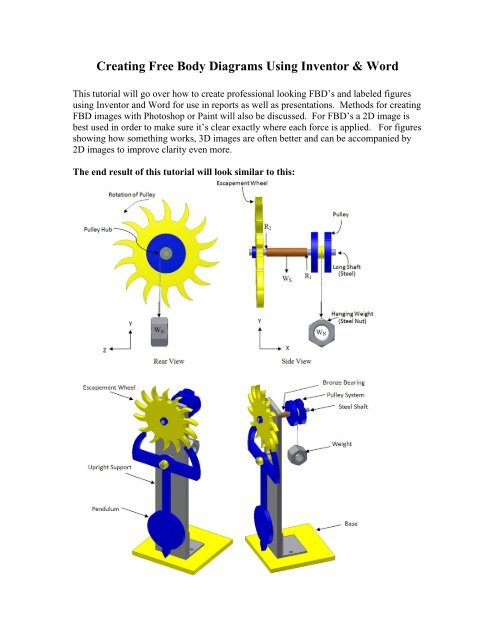 creating free body diagrams using inventor maelabs ucsd creating free body diagrams using inventor maelabs ucsd