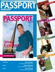 Lyadova Lyadova - Passport magazine