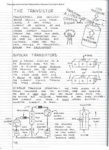 What is a Transistor - Document - MAELabs UCSD