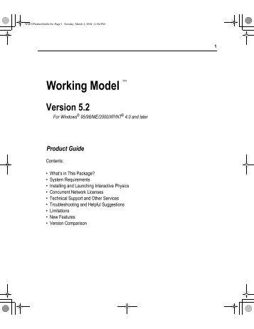 Working Model - MAELabs UCSD