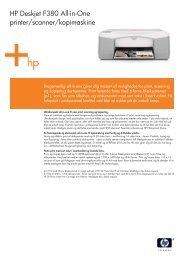IPG Consumer AIO Datasheet - HP