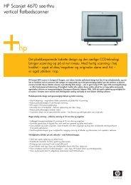 HP Scanjet 4670 see-thru vertical flatbedscanner - FLC Danmark ApS