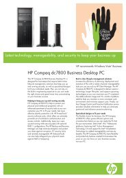 HP Compaq dc7800 Business Desktop PC - Eurodocument