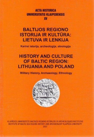 atsisiųsti - Baltijos regiono istorijos ir archeologijos institutas ...