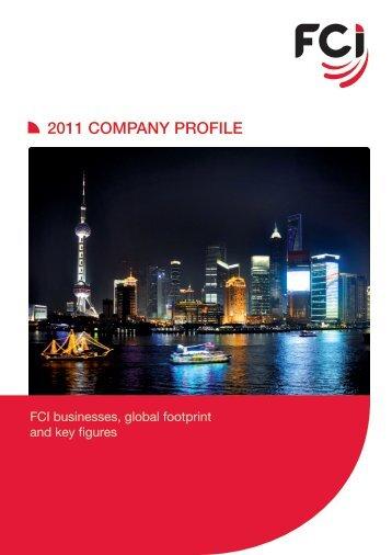 2011 COMPANY PROFILE - FCI