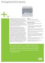 HP StorageWorks DAT 24 Tape Drive