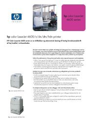 hp color LaserJet 4600 serien hp color LaserJet 4600/n/dn/dtn/hdn ...