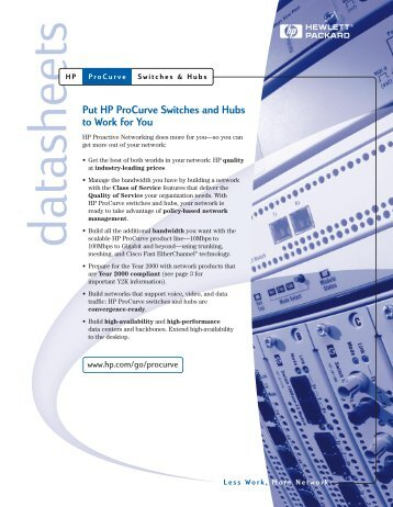 hp procurve 2510 configuration guide