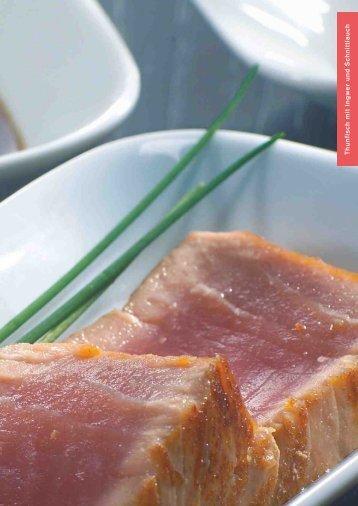 Thunfisch mit Ingw er und Schnittlauch - Gaggenau-genusswelt.de