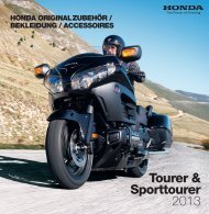 Honda Originalzubehör Tourer & Sporttourer