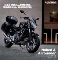 Honda Originalzubehör Naked & Allrounder